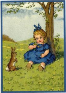 Osterpostkarten Sortiment Glückwunsch beglittert 6Gg006