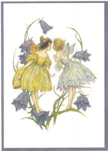 Glückwunschpostkarte beglittert 6Gg044
