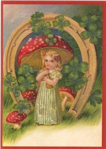 Postkarte Sortiment Weihnachten beglittert 6Wg060