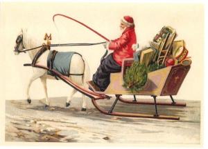 Postkarte Sortiment Weihnachten geprägt 6Wp043