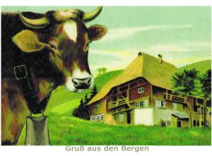 Glückwunschpostkarte ohne Veredelung (A6) 6Gn054
