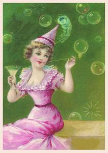 Postkarte Sortiment Glückwunsch geprägt 6Gp013
